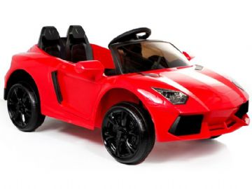 Ride on Car 12v Electric Lamborghini Aventador Style Red with Parental Control
